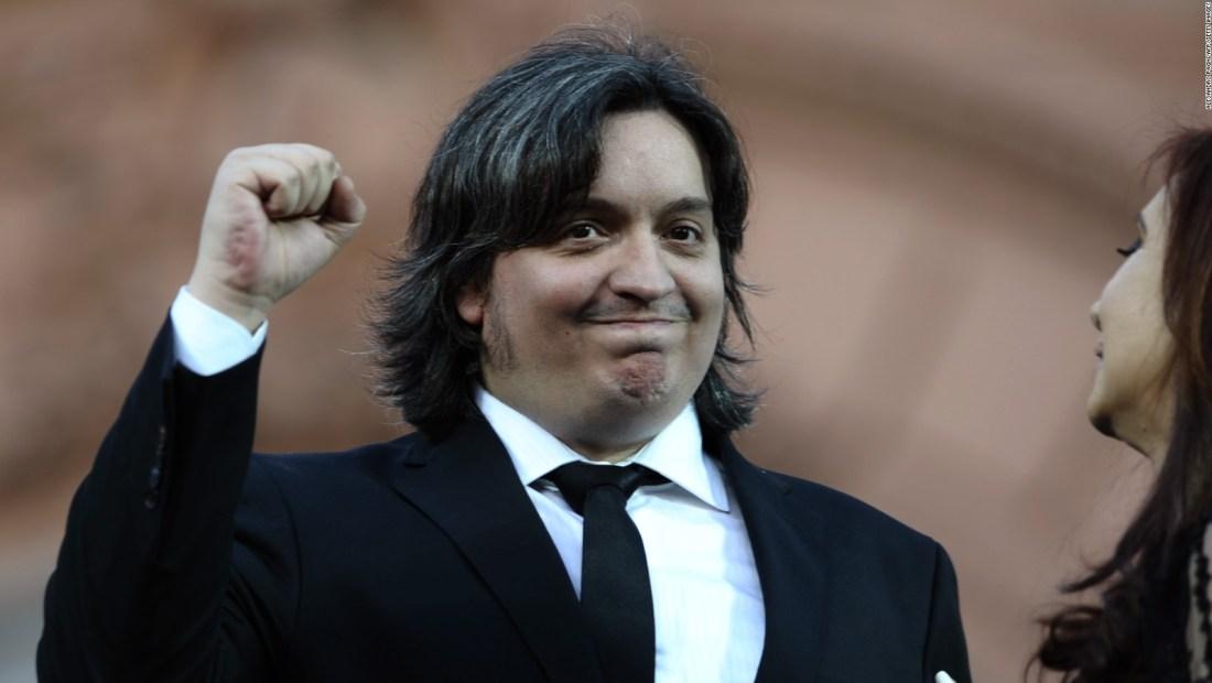 Máximo Kirchner declara en la causa de los cuadernos de la supuesta corrupción