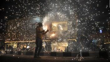 Autoridades prohíben el uso de fuegos pirotécnicos durante el festival de luces en noviembre