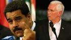 "Nicolás Maduro tilda a Mike Pence de ""loco extremista"""