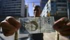 Venezolanos protestan agobiados por la hiperinflación