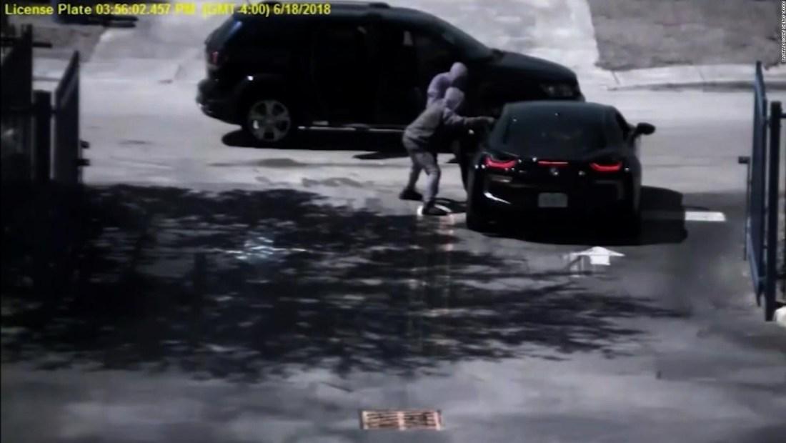 Imágenes de vigilancia revelan lo que le sucedió al rapero XXXTentacion