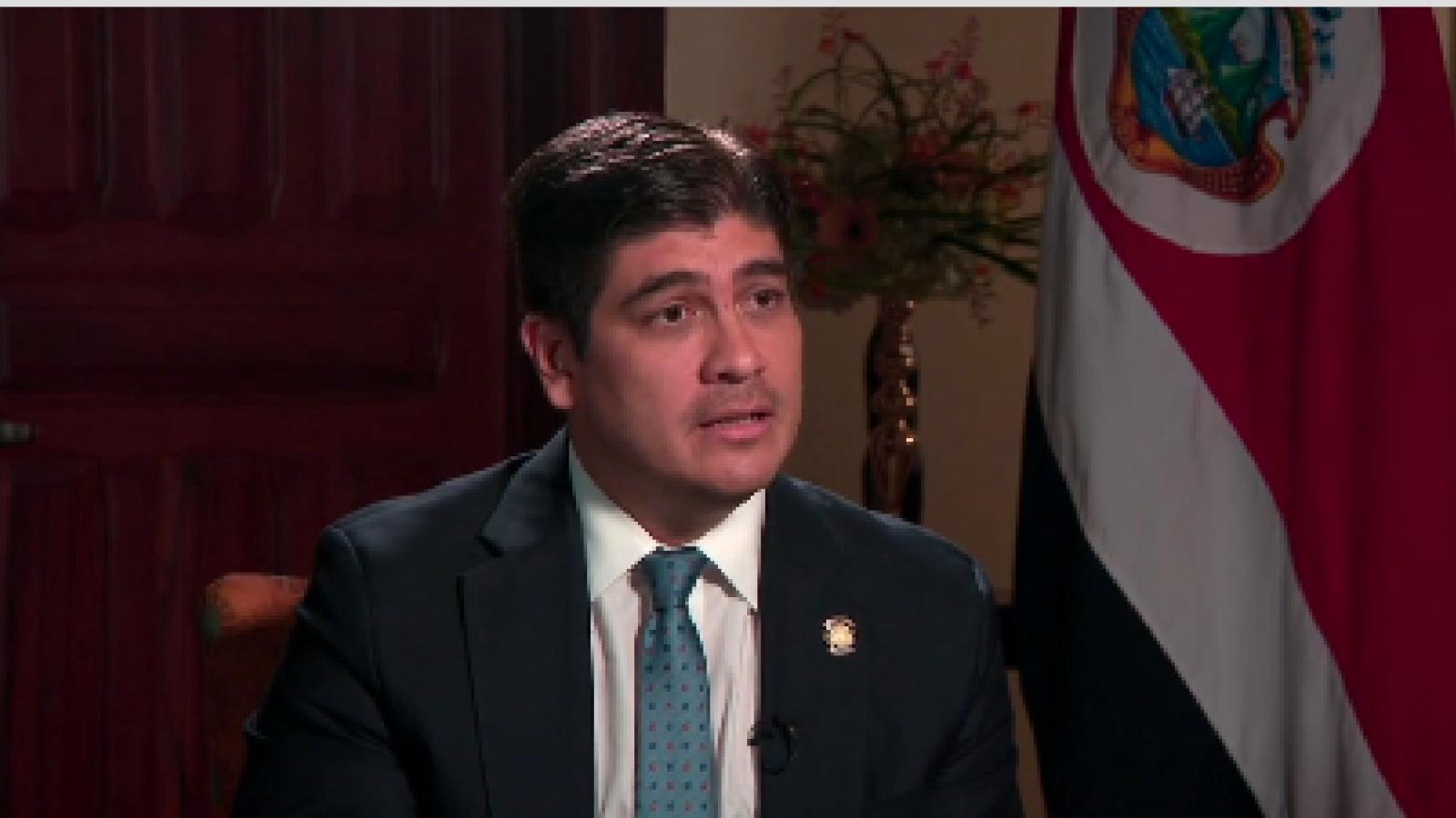 """Carlos Alvarado: """"Estoy dispuesto a resolver el problema económico"""""""