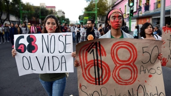 El movimiento del 68, uno de los más documentados en México