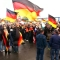 Simpatizantes de extrema derecha se manifiestan en Berlín