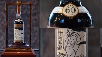 Esta botella de whisky se vendió por casi US$ 1,1 millones