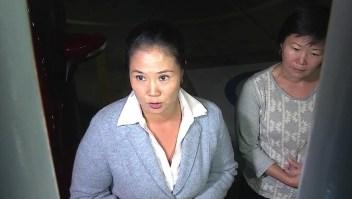 Keiko Fujimori apoya proyecto para liberar a presos mayores de 80 años