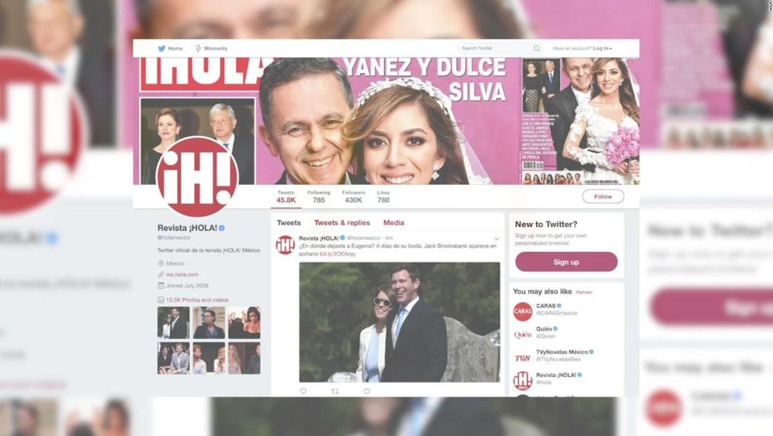 La polémica por la boda de Yañez, en la revista ¡Hola!