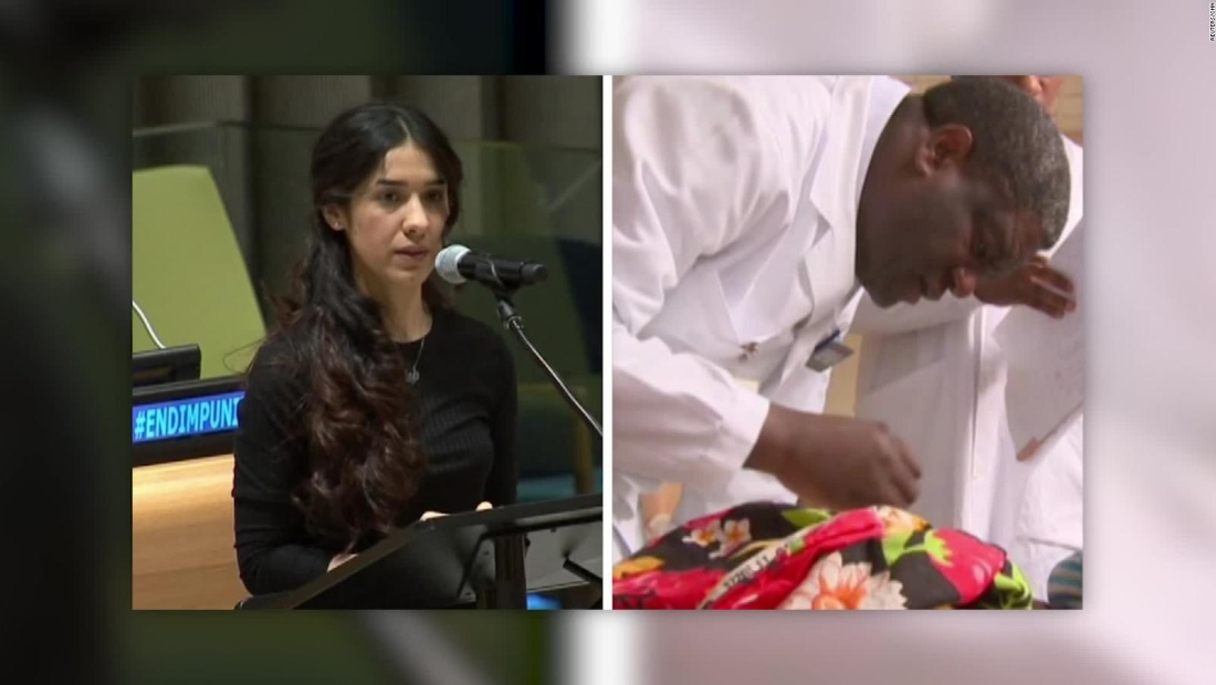 #MinutoCNN: Activistas contra violencia sexual ganan Nobel de Paz