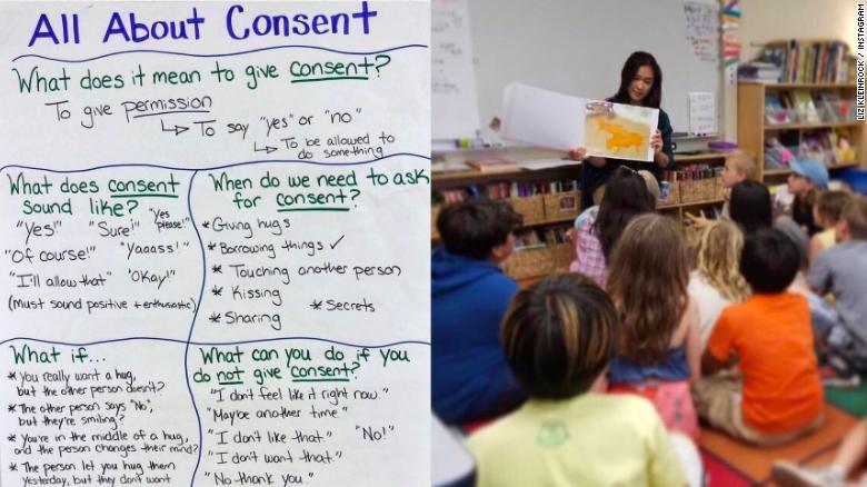 Liz Kleinrock se enorgullece de enseñar a sus alumnos de primaria acerca de la igualdad y el respeto.