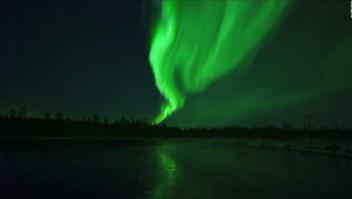 #LaImagenDelDía: espectaculares auroras boreales en Finlandia