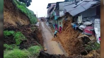 Colombia: 12 muertos por deslizamiento de tierra