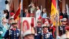Jornada de manifestaciones en el día nacional de España