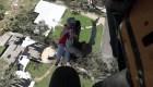 Militares rescatan a víctimas del huracán Michael