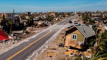 Lo que está pasando en Mexico Beach una semana después del huracán Michael