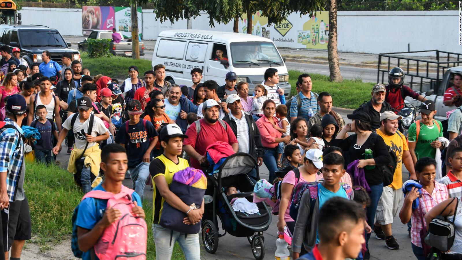 Comienza una nueva caravana de hondureños con rumbo a EE.UU.