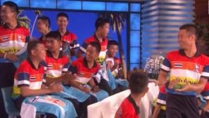 Niños de cueva de Tailandia conocieron a su héroe, Zlatan Ibrahimović