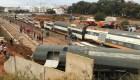 Descarrila tren en Marruecos