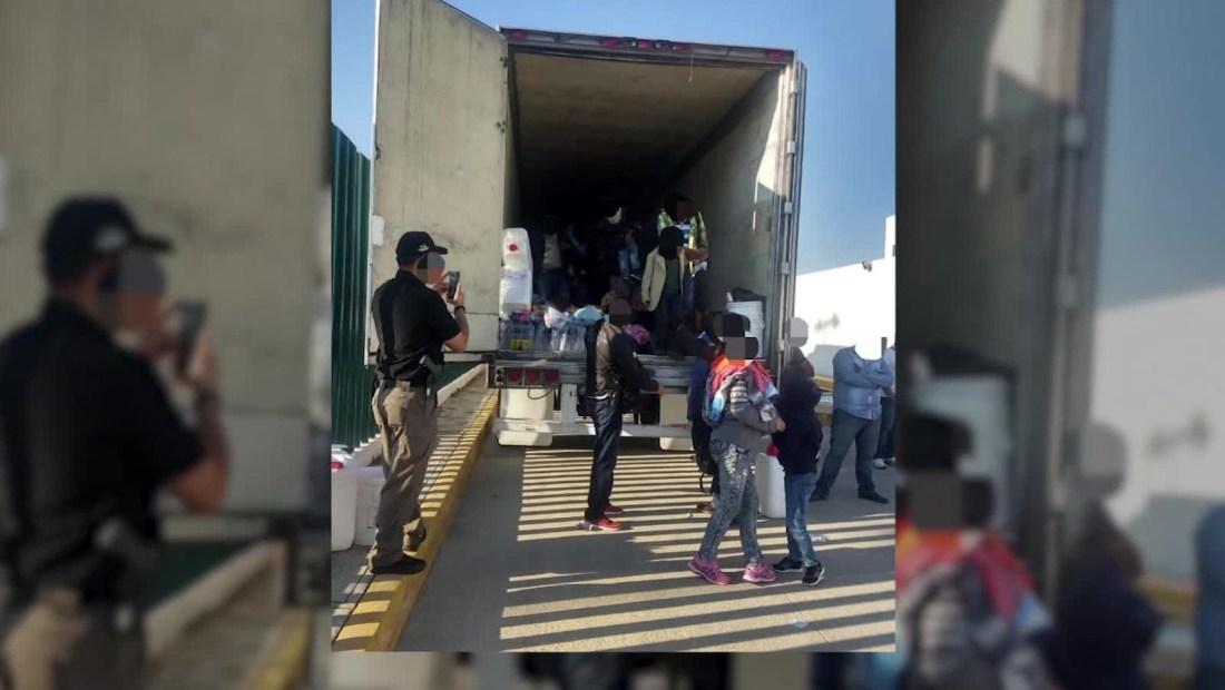 México rescata a 280 migrantes centroamericanos
