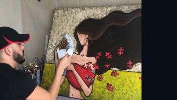 David Nieves, un artista autodidacta