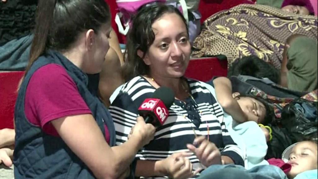 ¿Por qué se sumó esta madre hondureña a la caravana de migrantes?