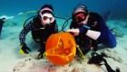 #EstoNoEsNoticia: celebración de Halloween en el fondo del mar