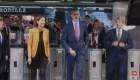¿Un rey en metro? Felipe VI lo hizo hoy