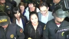 Liberan a Keiko Fujimori