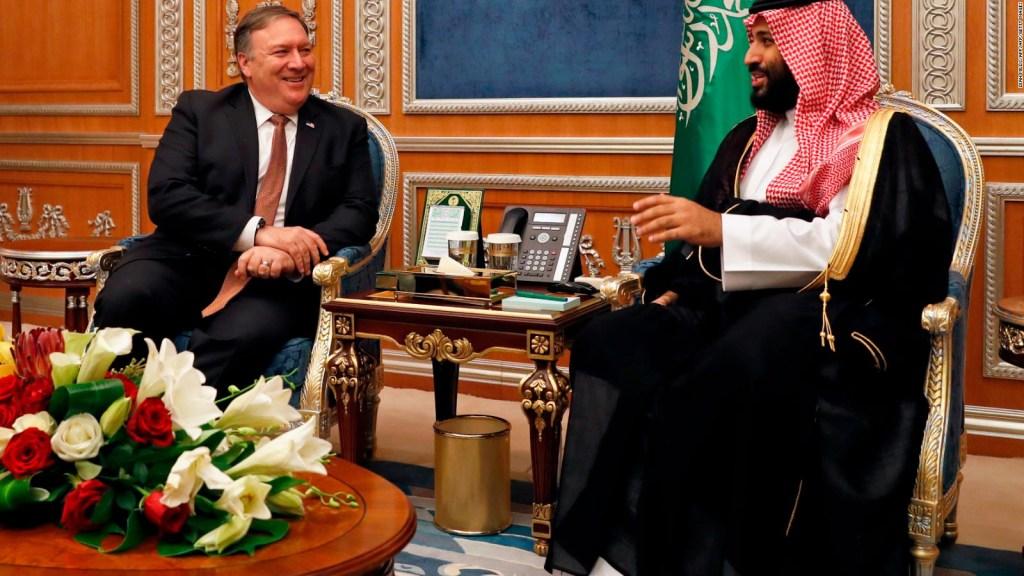 Mike Pompeo presentará detalles de su visita a Arabia Saudita