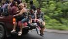 El sexto día de la caravana de migrantes hondureños