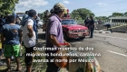 #MinutoCNN: Confirman muertes de dos migrantes hondureños