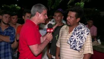 Inmigrante hondureño: Pedimos la buena voluntad de EE.UU.