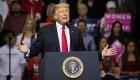Trump cita disturbios inexistentes