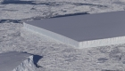 #LaImagenDelDía: un iceberg simétrico causa asombro entre los expertos