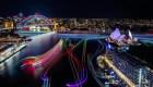 Australia: Festival de luces atrae a miles a Sydney