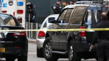 Así se evacuó el CNN Center en Nueva York
