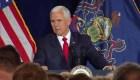 """Mike Pence: """"Los responsables serán llevados ante la justicia"""""""