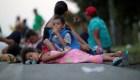La caravana de migrantes hacia EE.UU., en fotos