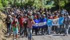 El recorrido de la caravana de migrantes en cifras