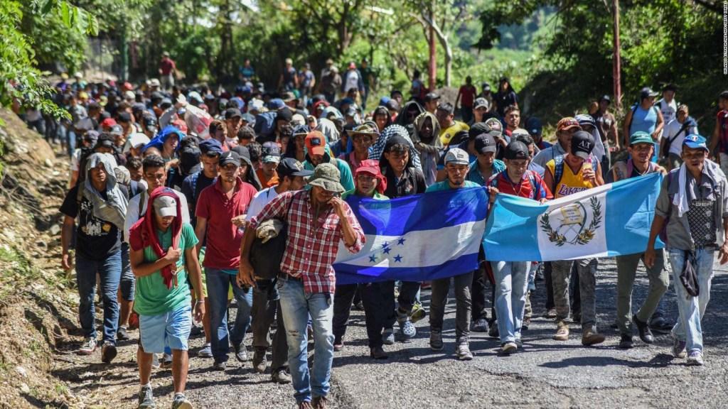 Juan Orlando Hernández provee datos oficiales de los migrantes que van en la caravana