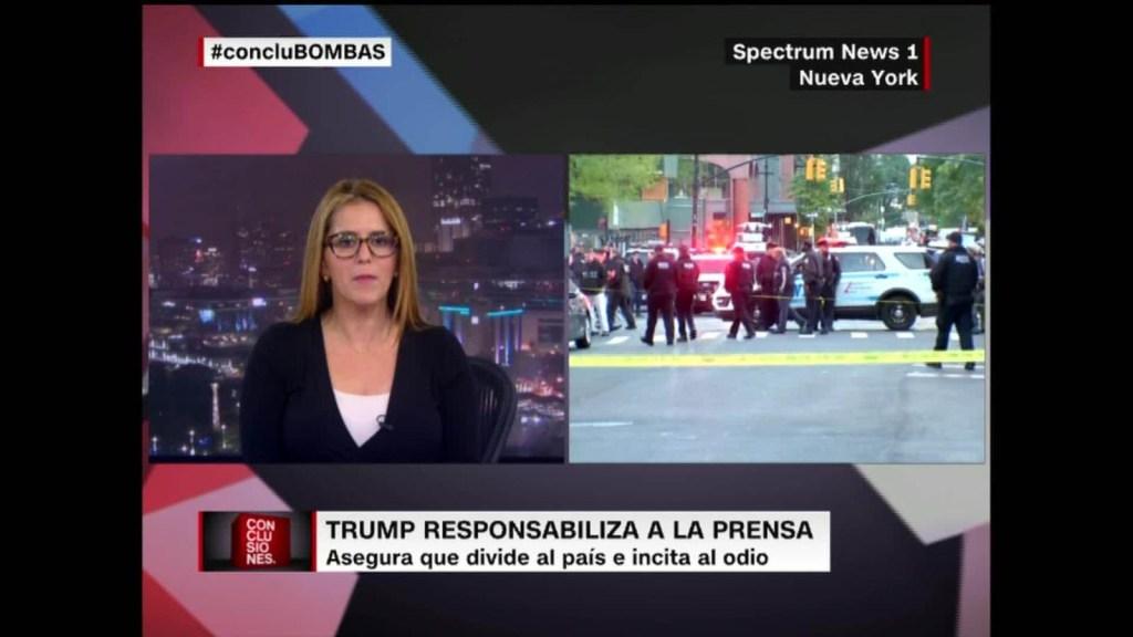 Descubren nuevos paquetes bomba enviados a voces discordantes con Trump