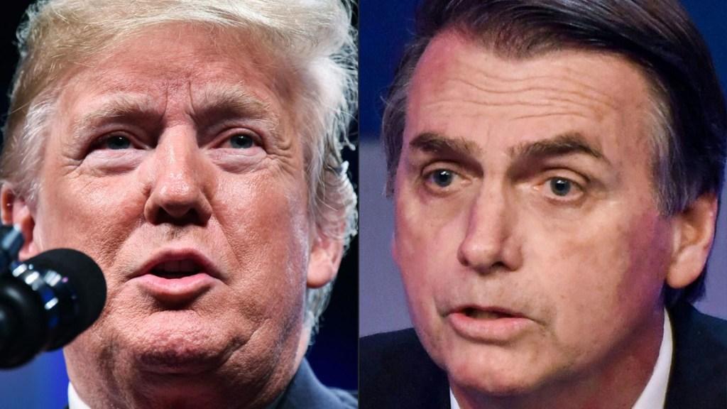 """Amorim: """"Comparado con Bolsonaro, Donald Trump es un intelectual iluminista"""""""