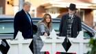 Trump y Melania visitan Pittsburg tras masacre en sinagoga