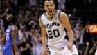 Spurs de San Antonio no tendrán la camiseta 20 tras el retiro de Manu Ginóbili