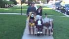 Disfraz de Beetlejuice por Halloween causa furor en Illinois