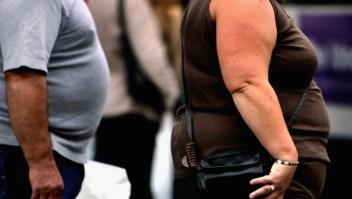 Imagen archivo personas obesas
