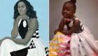 Niña se hace viral por disfrazarse como Michelle Obama