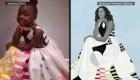 Una pequeña fan de Michelle Obama le rinde tributo con su disfraz de Halloween