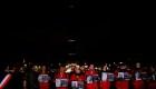 La torre Eiffel apaga sus luces por periodistas asesinados