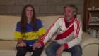 ¿Cómo hará esta familia de fanáticos de River y Boca para convivir durante el partido?