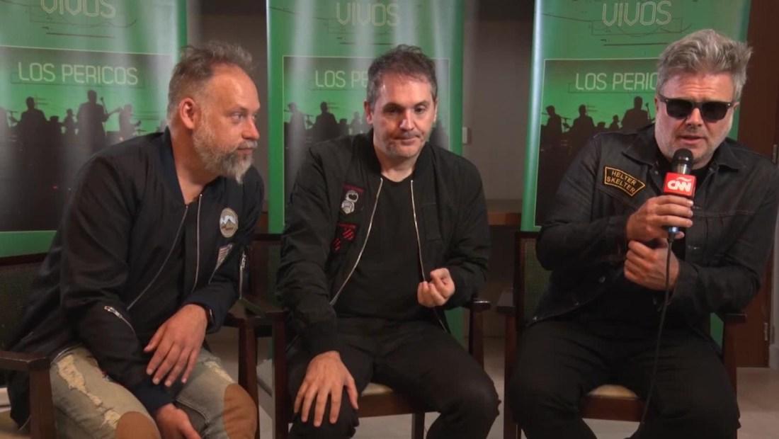 La banda argentina Los Pericos está de festejo